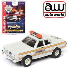 Autoworld Slot Car 1977 Dodge Monaco Illinois State Police HO AFX Xtraction R21
