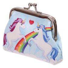 Unicorn & Rainbow Tic Tac Purse by Lauren Billingham Girl Women Coin Purse Gift