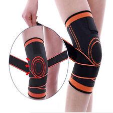 1Pc 3D Protector de tejedura Knee Brace Almohadilla De Compresión Transpirable Correr Soporte C