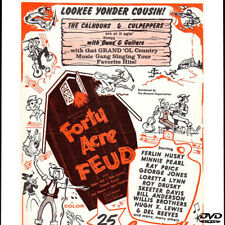 Forty Acre Feud DVD 1965 Ferlin Husky, George Jones , Minnie Pearl, Del Reeves