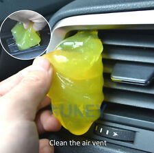 1x Car Interior Air Vent Cleaning Tool Glue Gum Dust Cleaner Dash Cover Gel