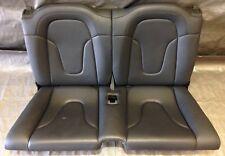 2008-2015 Audi TT Factory Rear Seat Set, Black Leather, T2002
