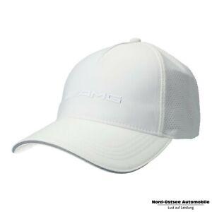 Original Mercedes-Benz AMG Cap  weiß, 100% Polyester / 100% Baumwolle