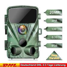 TOGUARD Wildkamera 20MP 1080P Jagdkamera 20M IR Nachtsicht Fotofalle Wasserdicht