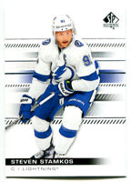 2019-20 SP Authentic Steven Stamkos Card #52 Tampa Bay Lightning
