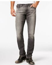 True Religion Men's Geno Relaxed Slim with Flap Stretch Jeans ME08NYM1 Gray 44