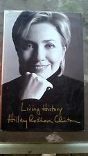 Hillary Clinton LIVING HISTORY book 1st PRINT Possible First Female President