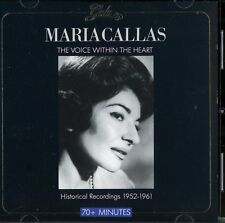Maria Callas: The Voice Within the Heart; Historical Recordings 1952-1961; Gala