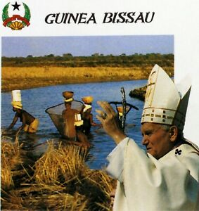 Guinea Bissau Trip / Travel Pope John Paul II Vatican Envelope PA483