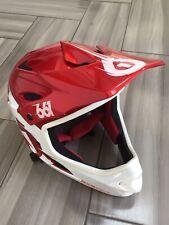 sixsixone helmet MTB BMX Red White Large