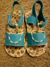 Natural Steps Girls Stowaway Sandals Size 11 New