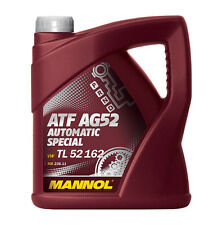 4l MANNOL ATF ag52 para 4hp20,4hp22,4hp24,5hp18,5hp19,5hp24,5hp30,al4,dp0,20hp