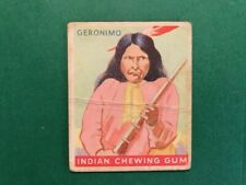 1933 Goudey Indian Gum Card, #25 of Series 48, Geronimo