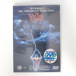 The Witches Of Eastwick Movie DVD Region 4 PAL Free Postage - Comedy