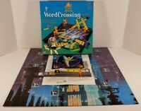 The Wonderful World of Disney Word Crossing Board Game Mattel 2000 Complete