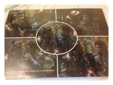 A4 Picture - Craig Charles & Emile Charles : Red Dwarf Genuine Signed Picture