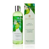 Bronnley Lime & Bergamot Bath & Shower Gel 300ml 10.6oz