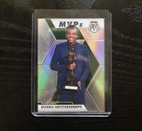 2019-20 Mosaic Giannis Antetokounmpo MVP Silver Prizm #297 10 Card Lot READ