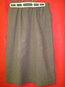 Vintage Pendleton chocoate brown 100% pure virgin Wool Skirt A-Line Size 6