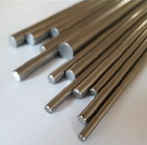 Round Rod Bar Aluminium, Brass, Mild & Stainless Steel 3, 4, 5, 6, 8, 10 & 12mm
