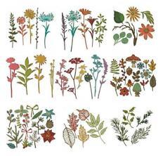 Wald Blätter Wildblumen Metall Stencil Cutting Dies Scrapbooking Stanzschablone