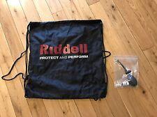 Riddell Revo SPEED Flex Football Helmet Travel Carry Bag Sack Pump & Glycerin