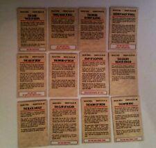 28mm Warhammer Fantasy various magic item cards