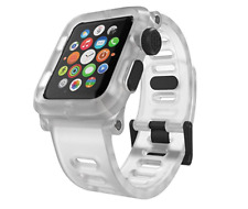 Lunatik EPIK Polycarbonate Case + Silicone Band for Apple Watch 42mm Clear  Read