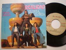 REALIDAD Gloria SPAIN 45 1976 Soft Rock Mellotron