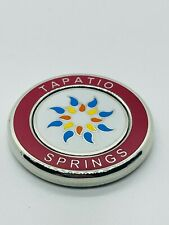 Tapatio Springs Resort Texas Red Magnetic Golf Ball Marker Coin Medallion Mint