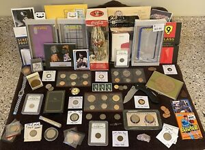 *Junk Drawer Lot* Silver, Gold, US Proof & Mint Sets, Coca-Cola Collectible