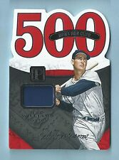 TED WILLIAMS 2016 PANTHEON 500 HOME RUN CLUB GAME WORN JERSEY RELIC /199