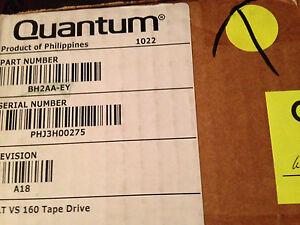 Quantum BH2AA-EY 80/160GB Dlt VS160 SCSI Lvd Intern Schwarz Hh