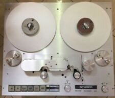 STUDER A 80 RC MK II STEREO MASTER TAPE RECORDER+BUTTERFLY HEAD BLOCK