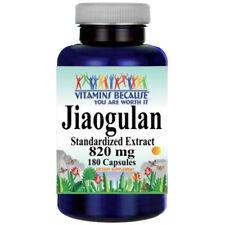 Jiaogulan Standard. Extract 820mg 180Caps Gynostemma Pentaphyllum/AMPK Activator