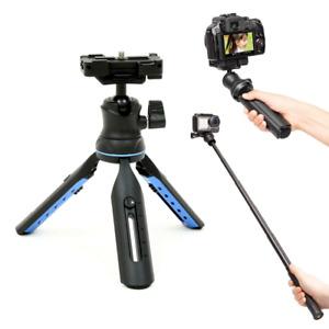 Slik Multi-Pod 3x4 Mini Camera Tripod & Selfie Stick with Smartphone Holder