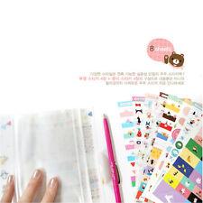 Zoo Diary Calendar Filofax Schedule Notebook Decoration Stickers 8sheets/Set _vi