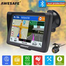 "7""AWESAFE A2 GPS Navigator Sat Nav with Sunshade Bluetooth+Reverse Camera"