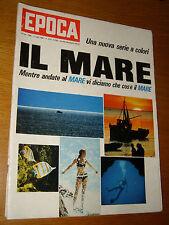EPOCA 1966/823=ENZO FERRARI=GIANNI BRERA RIVERA=LUIGI MERONI=GIULIO CENTAURO