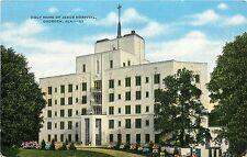 Linen Postcard; Holy Name of Jesus Hospital Gadsden AL Etowah County Unposted