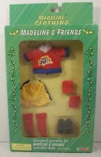 Madeline & Friends Doll Clothing Goal Soccer Uniform Outfit Shorts Shirt Guards