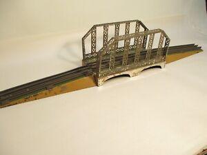 O Gauge Dorfan 410 Bridge 3 Piece Prewar X7503
