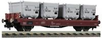 Fleischmann 523301 HO Gauge DB Lbs583 Von Haus zu Haus Container Wagon IV