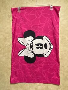 Disney Minnie Mouse PILLOWCASE 2-Sided Microfiber Minnie Mouse & Bows