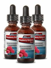 Raspberry Ketone Drops - Raspberry Ketones Liquid 2oz - Lose 2-3 Lbs Per Week 3B
