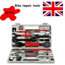 48pc Bike Cycling Bicycle Motorcycle Maintenance Repair Hand Wrench Tool Set Box