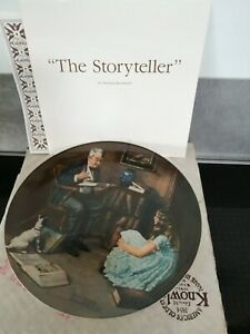Norman Rockwells the storyteller plate