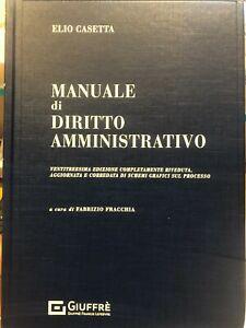 Manuale di Diritto Amministrativo Casetta Luglio 2021