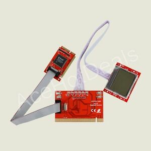 PCI Motherboard Analyzer Diagnostic Post Tester Card For PC Laptop Desktop PTI8