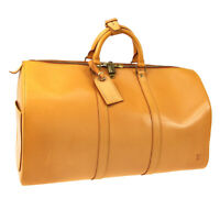 LOUIS VUITTON KEEPALL 50 TRAVEL HAND BAG NATURAL NOMADE SP ORDER NR15262